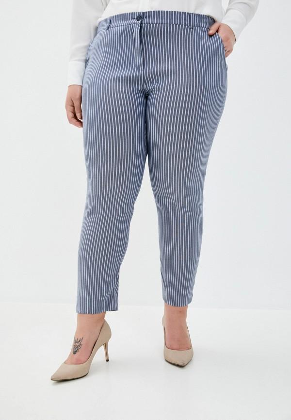 женские повседневные брюки le monique, синие