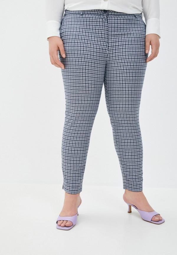 женские зауженные брюки le monique, синие
