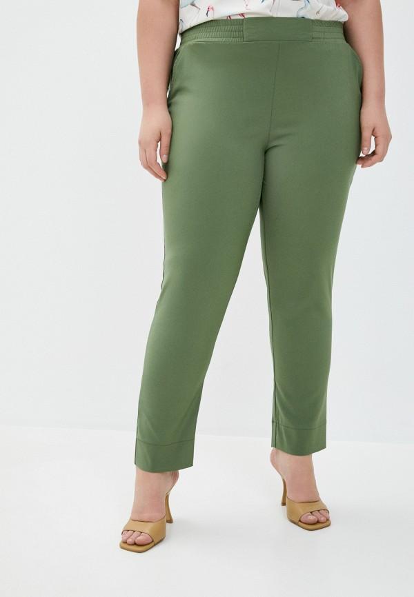 женские повседневные брюки le monique, зеленые
