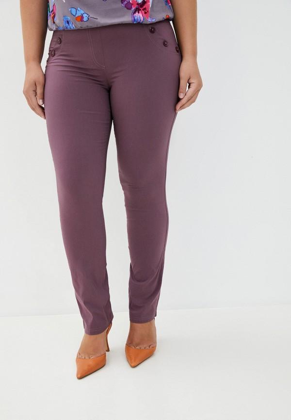 женские повседневные брюки полное счастье, фиолетовые