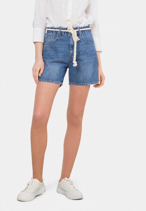 женские джинсовые шорты mr520, синие