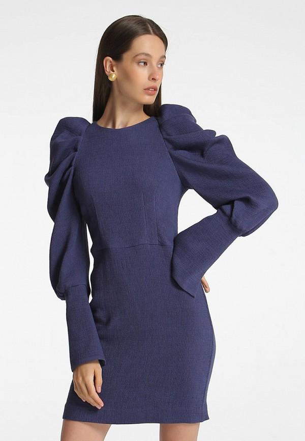 женское вечерние платье shako, синее