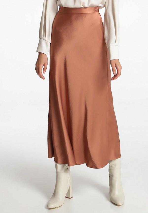 женская юбка shako, коричневая