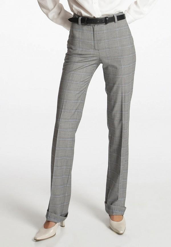 женские классические брюки shako, серые