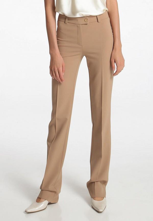 женские классические брюки shako, бежевые