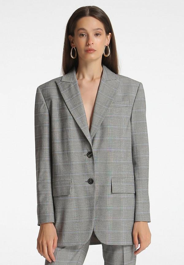 женский пиджак shako, серый