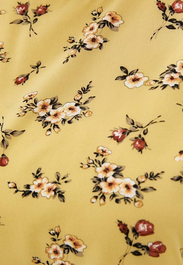 Блуза Стикомода цвет желтый  Фото 4