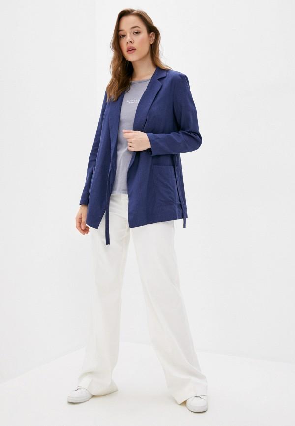 Жакет Adele Fashion цвет синий  Фото 2