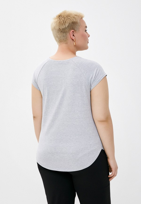 Футболка Adele Fashion цвет серый  Фото 3