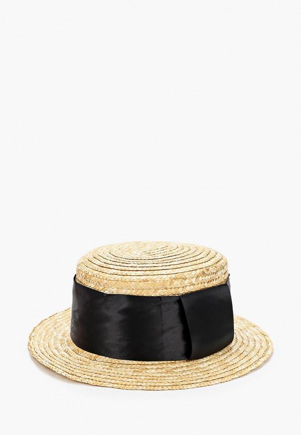женская шляпа paccia, бежевая