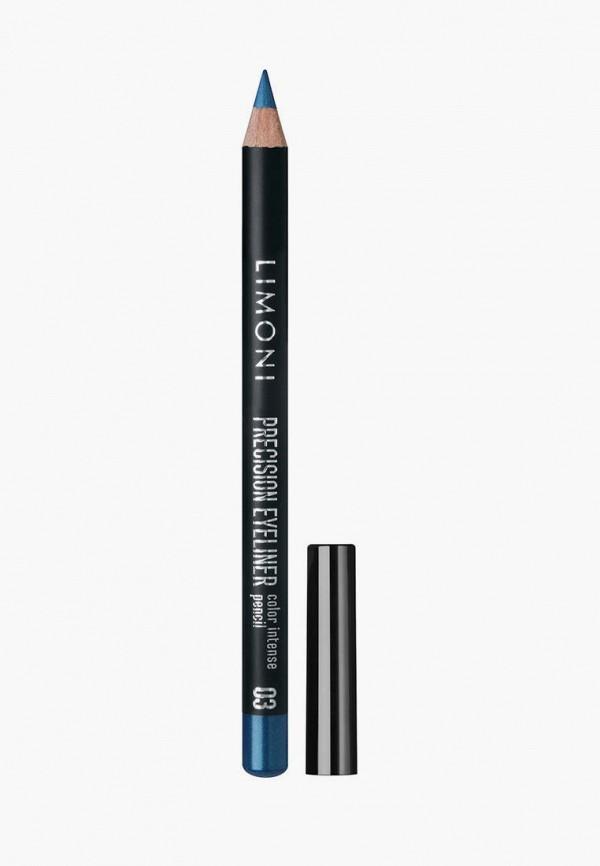 женский карандаш для глаз limoni, синий