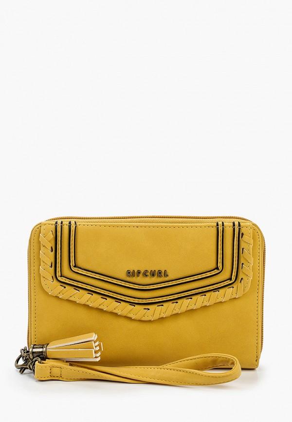 женский кошелёк rip curl, желтый