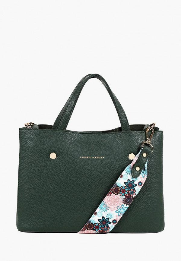 женская сумка laura ashley, зеленая