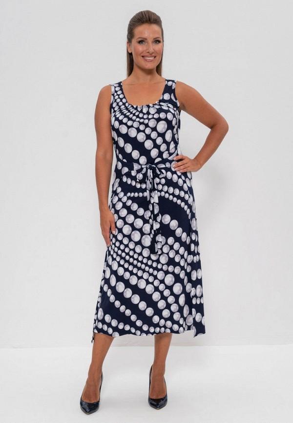женское повседневные платье cleo, синее