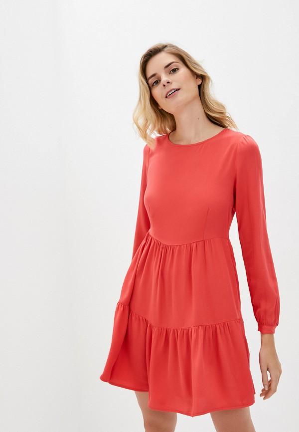 женское повседневные платье lc waikiki, красное