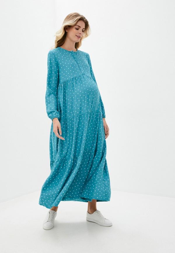 женское повседневные платье lc waikiki, бирюзовое