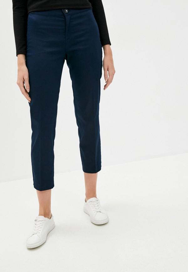 женские зауженные брюки lc waikiki, синие
