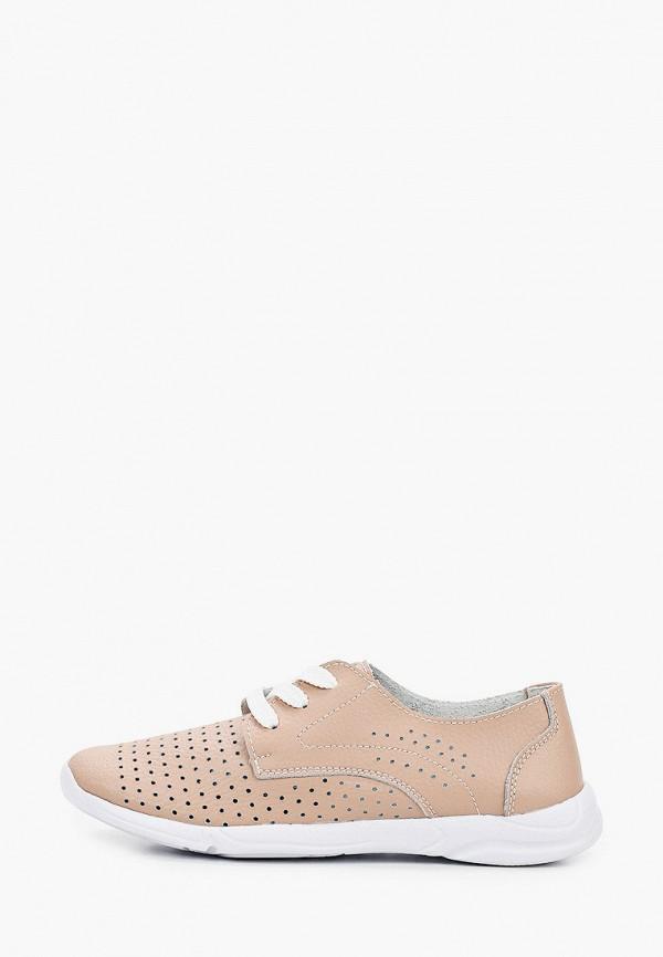женские низкие ботинки zenden active, бежевые