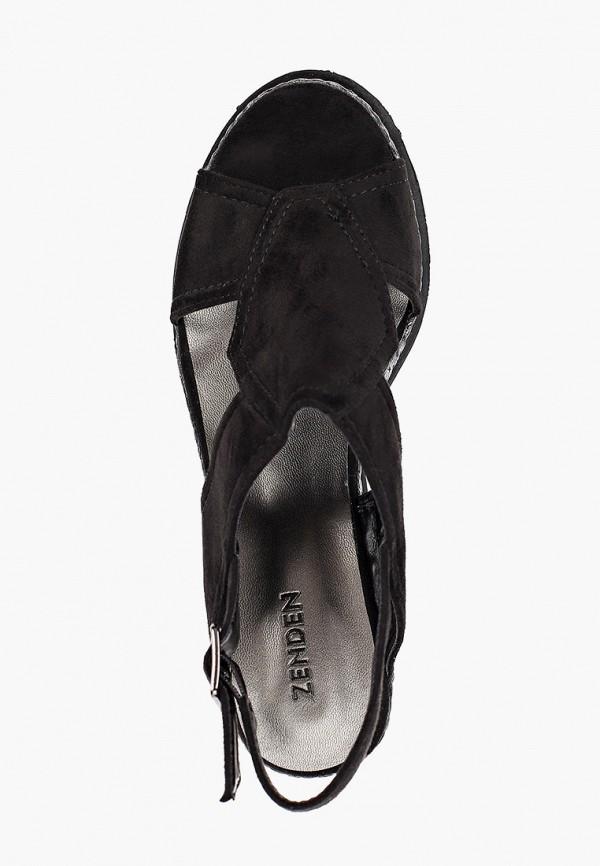Босоножки Zenden цвет черный  Фото 4