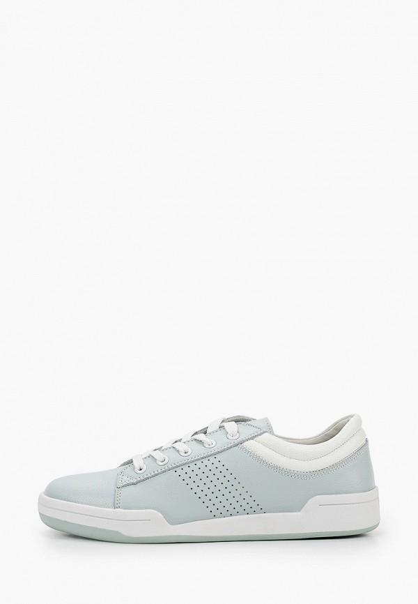 женские низкие ботинки zenden active, бирюзовые