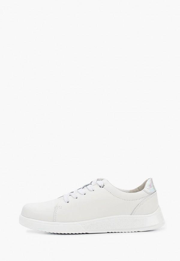 женские низкие кроссовки zenden active, белые