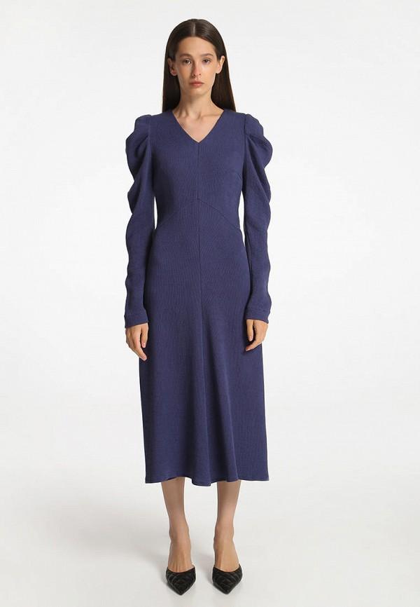 женское повседневные платье shako, синее