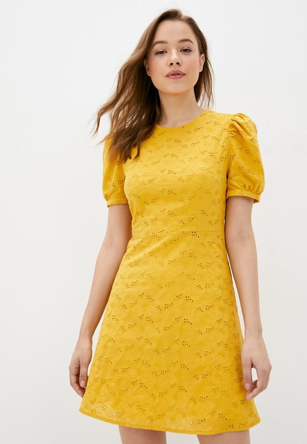 Платье Self Made цвет желтый