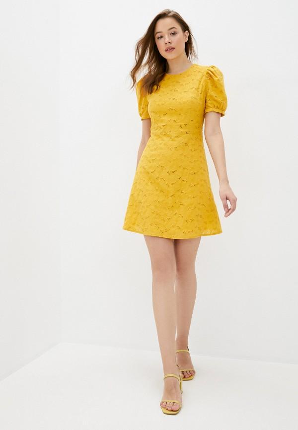 Платье Self Made цвет желтый  Фото 2