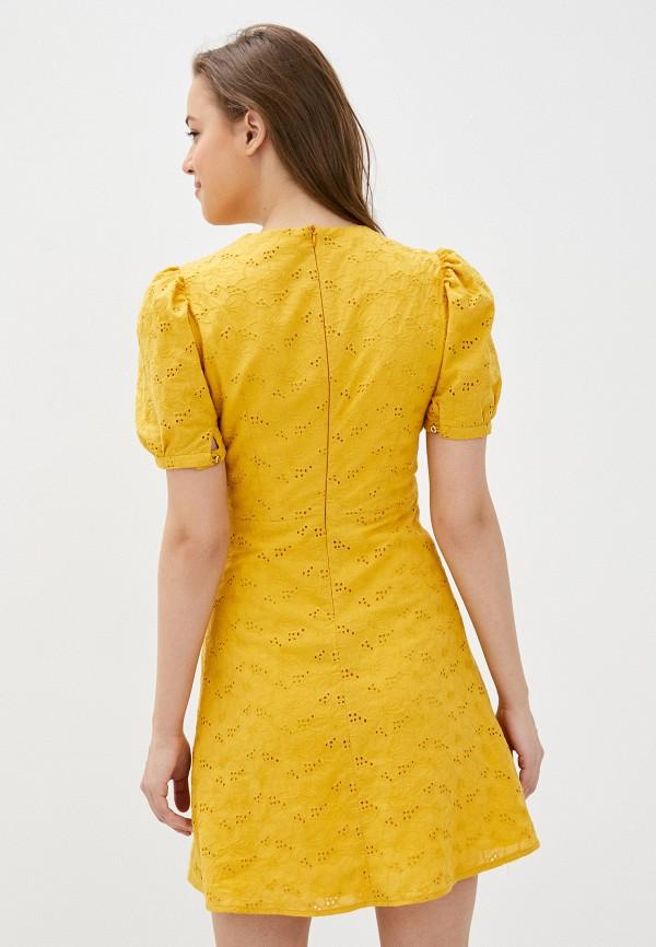Платье Self Made цвет желтый  Фото 3