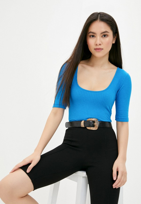 женские боди mark formelle, синие