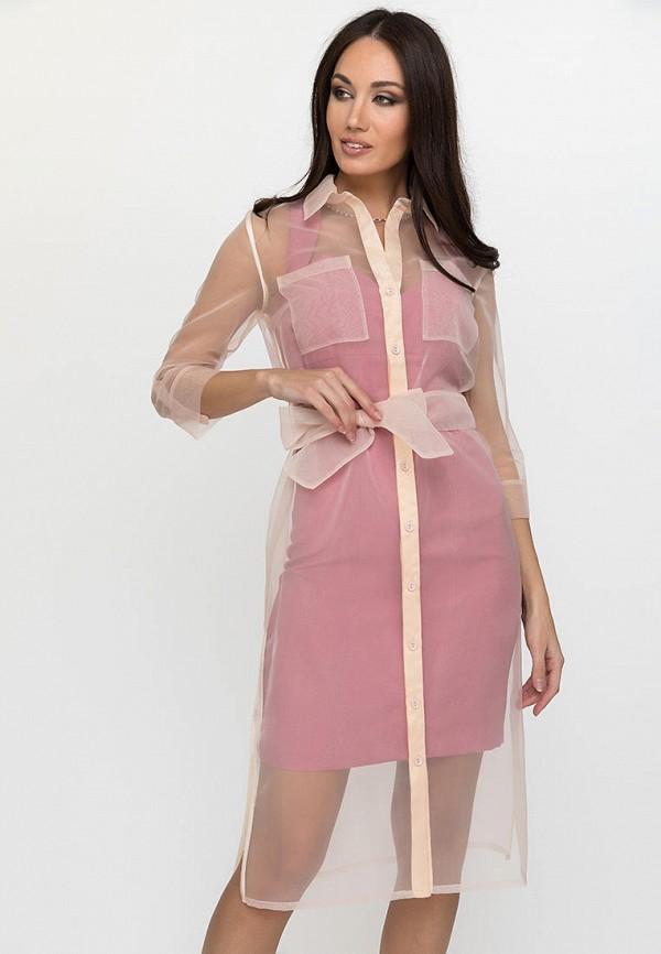 женское повседневные платье gloss, бежевое