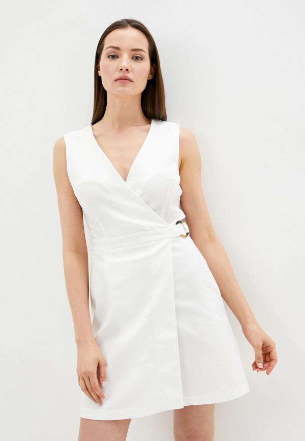 Платье Befree цвет белый