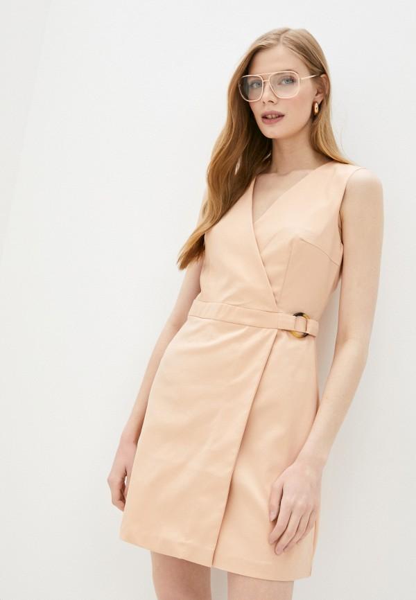 Платье Befree цвет бежевый