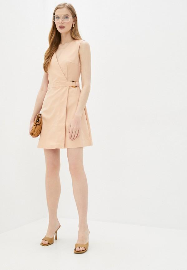 Платье Befree цвет бежевый  Фото 2
