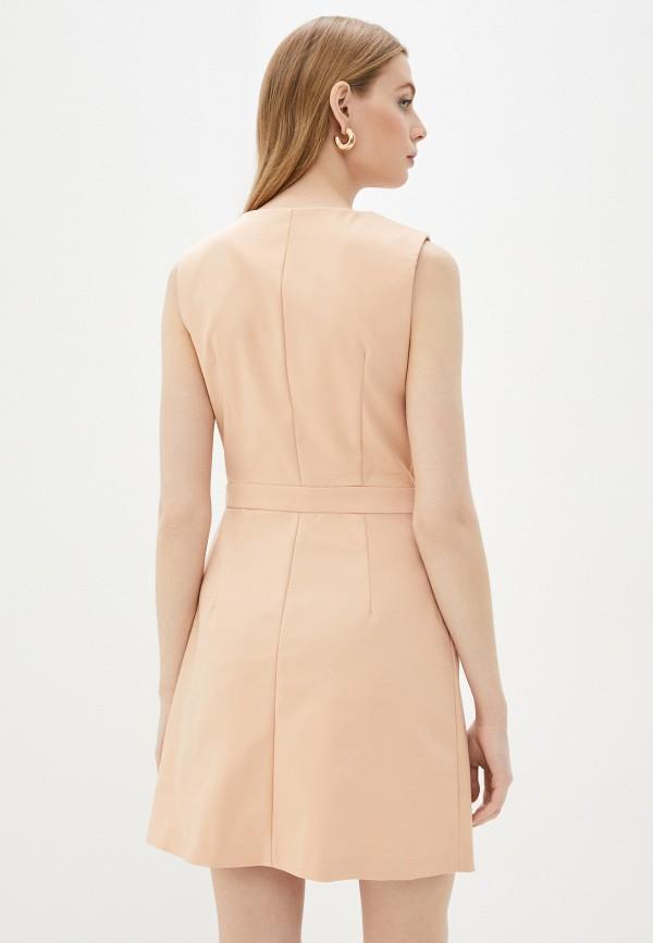 Платье Befree цвет бежевый  Фото 3