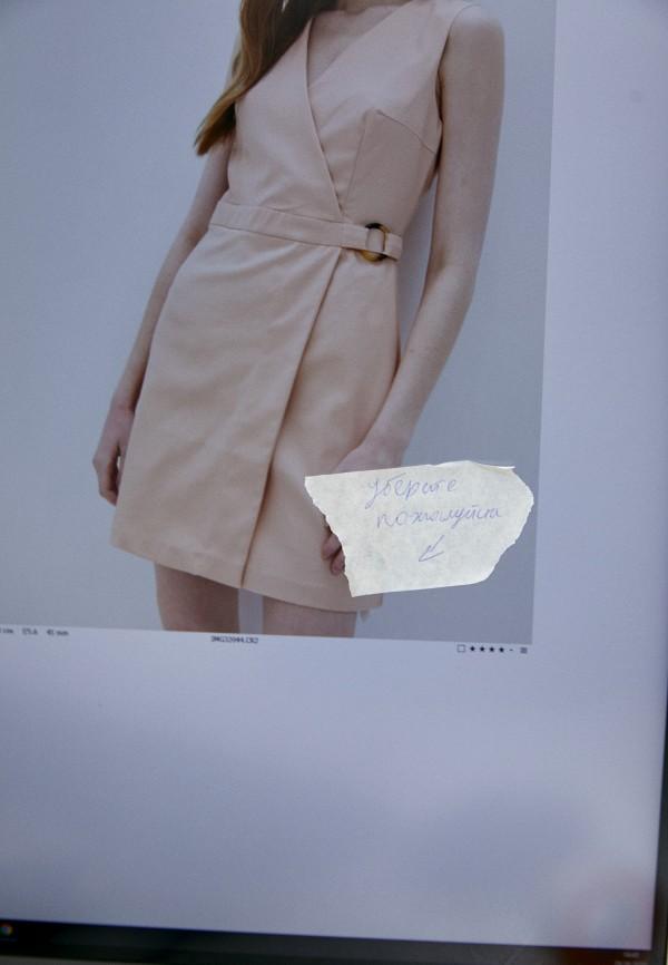 Платье Befree цвет бежевый  Фото 5