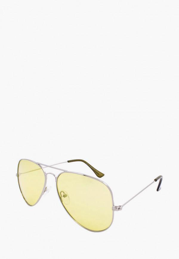женские авиаторы солнцезащитные очки rita bradley, серебряные