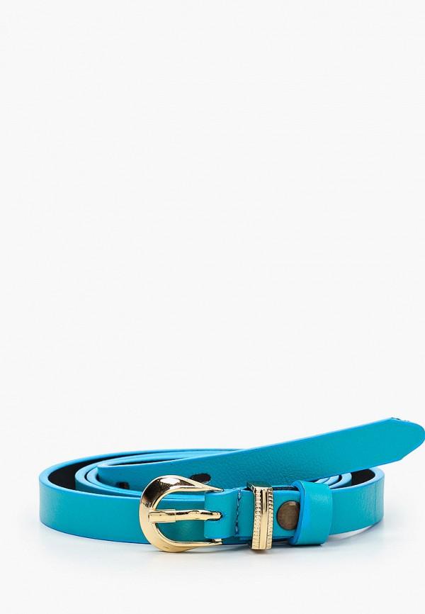 женский ремень olio rosti, голубой