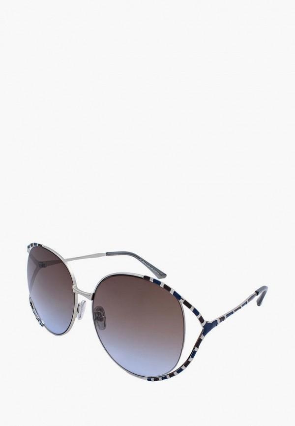 женские круглые солнцезащитные очки kaizi, синие