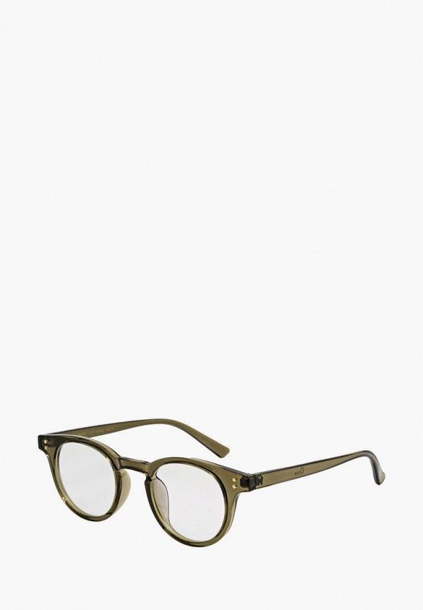 женские круглые солнцезащитные очки kaizi, хаки