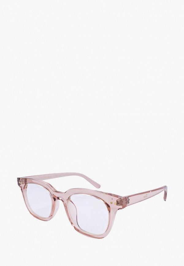 женские квадратные солнцезащитные очки kaizi, розовые