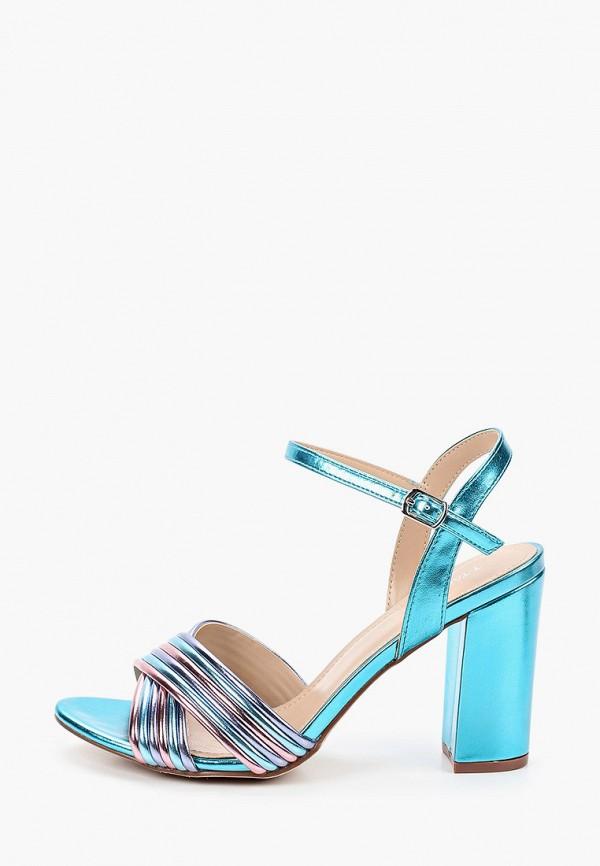женские босоножки t.taccardi, голубые