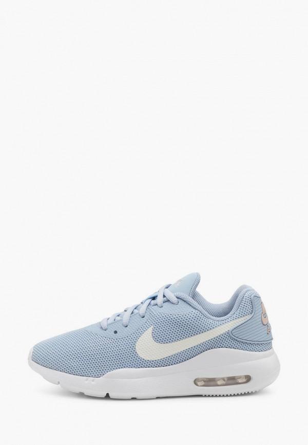женские кроссовки nike, голубые