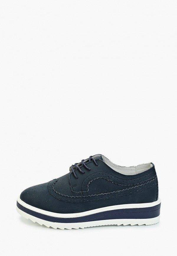 женские низкие ботинки zenden comfort, синие