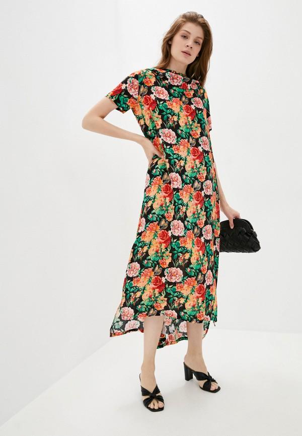 женское повседневные платье мадам т, разноцветное