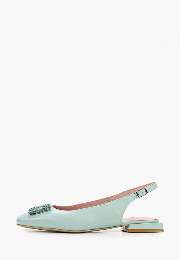 женские туфли giotto, зеленые