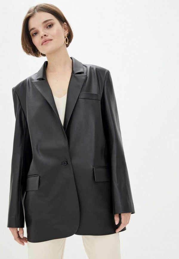 женский пиджак motrya, черный