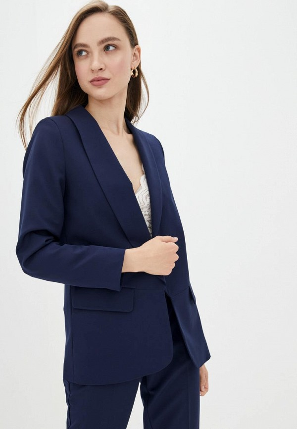 женский пиджак jhiva, синий
