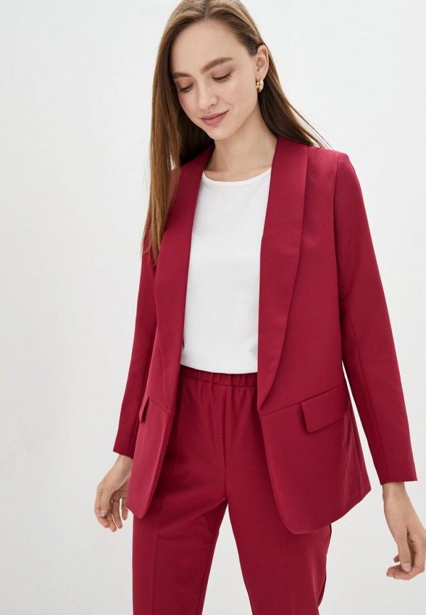 женский пиджак jhiva, бордовый