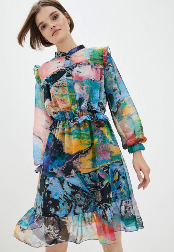 женское повседневные платье ricamare, разноцветное